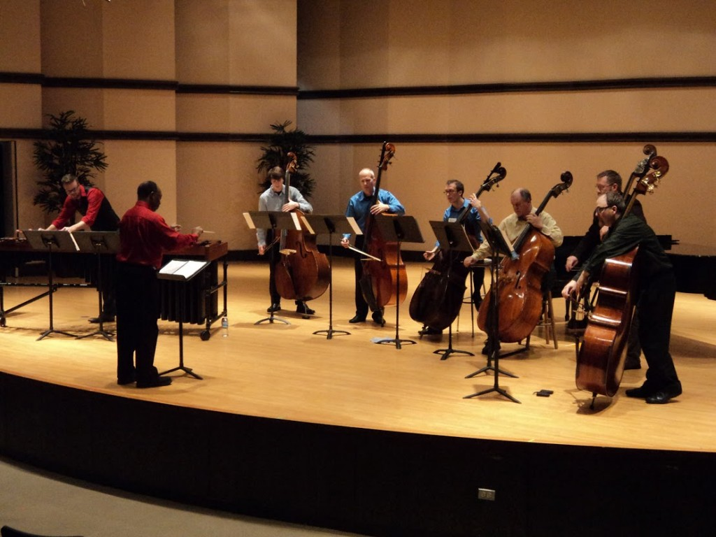 bass sextet with marimba
