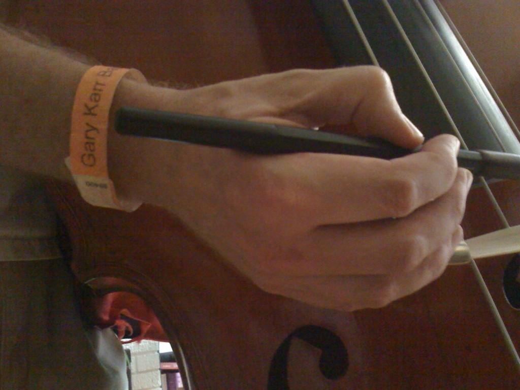 Gary Karr Concert Wristband
